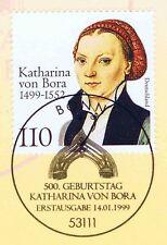 BRD 1999: Katharina von Bora Nr. 2029 mit Bonner Ersttagssonderstempel! 1A 1807