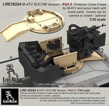 Live Resin 1/35 LRE-35224 M-ATV SOCOM Version Upgrade (Part.2)