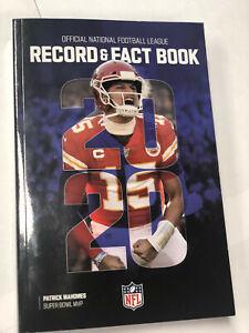 RARE 2020 NFL Record & and Fact Book PATRICK MAHOMES KC CHIEFS