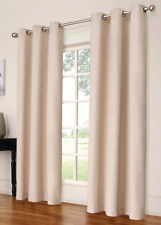 "Eclipse Windsor Light Blocking (1) Curtain Panel Cream 84""x42"""