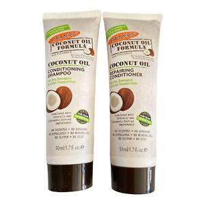 PALMER'S Coconut Oil Formula Coconut Oil Shampoo & Conditioner Travel 1.7 fl oz