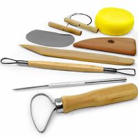 Royal & Langnickel – Quality Ceramic and Sculpting Pottery Tool Set - Pack of 8