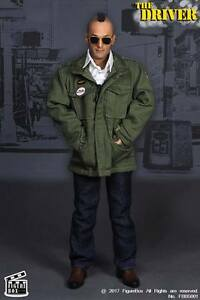Figure Box 1/6 Scale Taxi Driver Costume Set For Hot Toys Narrow Shoulder Body
