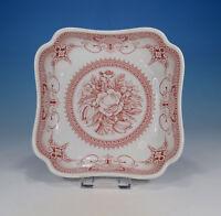 """Hutschenreuther """"Windsor rot"""" Schale 18 x 18 cm."""