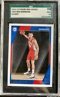 2016-17 Panini NBA Hoops Ben Simmons RC Rookie #261 SGC 10 GEM MINT PSA COMP