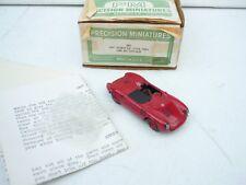 1:43 PM Models USA MADE Handbilt 1957 PORSCHE 550A /1500 RS SUPER SELTEN!!