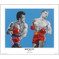 "Rocky IV ~ ""He's Cut"" ~ 24"" x 20""   Art Print By Patrick J Killian"