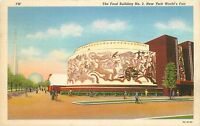 New York World's Fair The Food Building #2  postcard Posted 1939