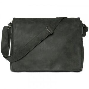 CASPAR TS1012 Vintage Messenger Shoulder Cross Body Bag Large Notebook A4 13''