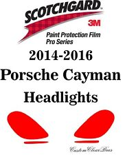 3M Scotchgard Paint Protection Film Pro Series 2014 2015 2016 Porsche Cayman