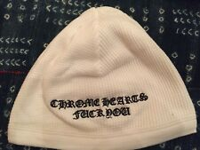 Authentic Chrome Hearts Beanie White