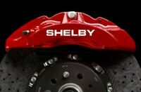 4 Pegatinas sticker decal brake caliper Shelby cobra pinzas freno 9 cm