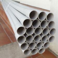 40m (0,45€/ m) M25 Elektro-Stangenrohr PVC Kupa Rohr Leerrohr M25 grau 320N
