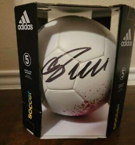 Cristiano Ronaldo Signed Adidas Logo Sz 5 Soccer Ball COA