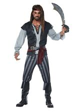 Men's Scallywag Pirate Costume SIZE L (Used)
