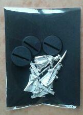 LOTR Warhammer Elf Spearmen Metal Slotta Miniatures inc Bases EXCELLENT