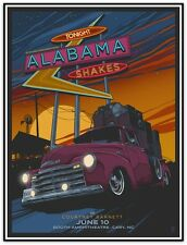 ALABAMA SHAKES - 2015 - SOUND AND COLOR - VANCE KELLY - POSTER - CARY - BOOTH