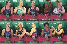 Melbourne Vixens 2018 Super Netball Team 10 Card Set