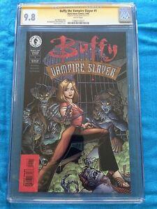 Buffy: The Vampire Slayer #1 - Dark Horse - CGC SS 9.8 - Signed by Art Adams