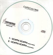 Capsicum Tree Scappa Scappa Cd singolo Promo (CDR) EX+ Two Tracks