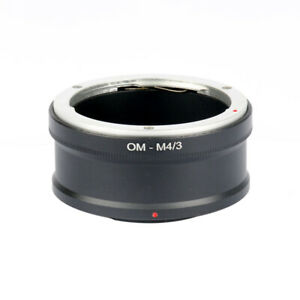 OM-M4/3 Adapter for OM Camera Lens Mount to Micro 4/3 MFT GX1 EP5 E-M5 GwJ.BI