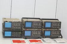 6 x Philips PM3206  OSZILLOSKOP mit 2 x  Attenuator Probe Set PM9328