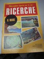 FIGURINE RICERCHE SALVADEO n. 23 IL MARE, 1982