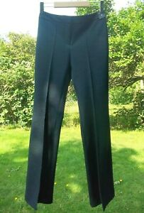 Cool River Island Vintage 70's Style Flared Bootcut Denim Look Trousers Size 6..