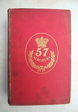 More details for rare original 1893 history of 57th west middlesex regiment by woollright
