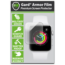 Gard Apple Watch 38mm Series 1/2/3- MILITARY GRADE SCREEN PROTECTOR (pack of 3)