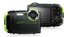 Fujifilm FinePix XP80 Waterproof Digital Camera with Lens Mount+16GB Card Green