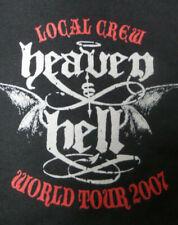 Heaven & Hell DIO 2007 tour Concert T-Shirt XL Rare VTG Band Metal Black Sabbath