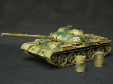 TAMIYA SOVIET T62  BUILT AND PAINTED 1/35 MODEL KIT TO BE RESTORED