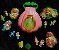 Vintage Kenner Sea Wees Icy Gals Complete Doll Collection � Shell Carrying Case