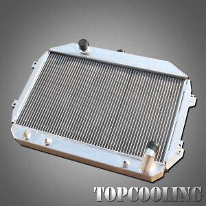 For Nissan Datsun 240Z 260Z L24 L26 70-74 3 Row Core Aluminum Radiator AT MT