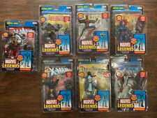 Marvel Legends -Sentinel Series - COMPLETE 7 FIGURE SET -SPIDERMAN BLACK PANTHER