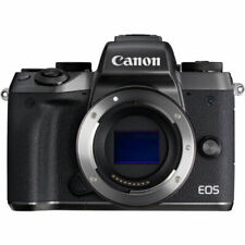 Canon EOS M5 24.2MP Digital Camera - Black (Body Only) - Brand New - Free Ship