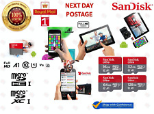 SanDisk Ultra Micro SD Card 16GB 32GB 64GB 128GB Class 10 SDHC SDXC TF Memory