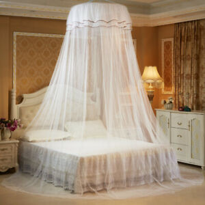 Bedding Dome Tent Lace Princess Bed Canopy Bedcover Mosquito Net Curtain Decor