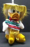 "Vintage Disneyland Walt Disney World Donald Duck Plush 12"" Doll Sumbraro"