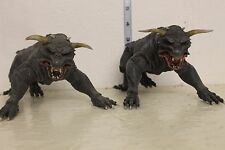Ghostbusters Zuul and Vinz Clortho Terror Dog Figure Set LOOSE