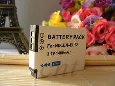 Battery EN-EL12 for Nikon COOLPIX S8100 S8000 S9100 Coolpix S610C S6200 S6000