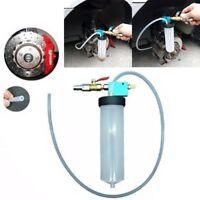 Car Auto Vehicle Brake Bleeding Clutch Fluid Bleeder Kit Vacuum Tool Pump Pro