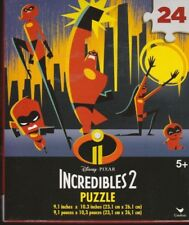 Brand new Jigsaw Puzzle Disney Incredibles 2 Fast Shipping Kids 24 piece