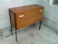 meuble bar  abattant design 50 /60 pied metal
