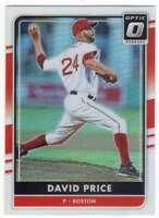 2016 Panini Donruss Optic Chrome Holo Refractor #120 David Price Red Sox