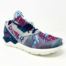 Adidas Originals Tubular Runner Gray Navy White B35637 Mens Sneakers Size 11