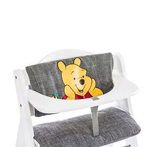 Hauck Hochstuhlauflage Deluxe Pooh grey für Hochstuhl Alpha+ 2-teilig TOP