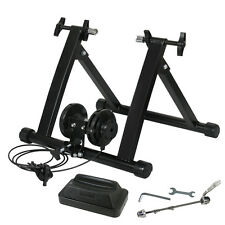 Indoor Bicycle Trainer Exercise Stand Steel Machine Variable Magnetic Resistance