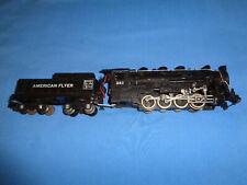 American Flyer #342 0-8-0 Switcher Locomotive & Tender. Runs & Smokes Well
